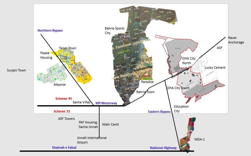 Property Insights of Scheme 45 Karachi, Property for Sale, Price, Maps & News