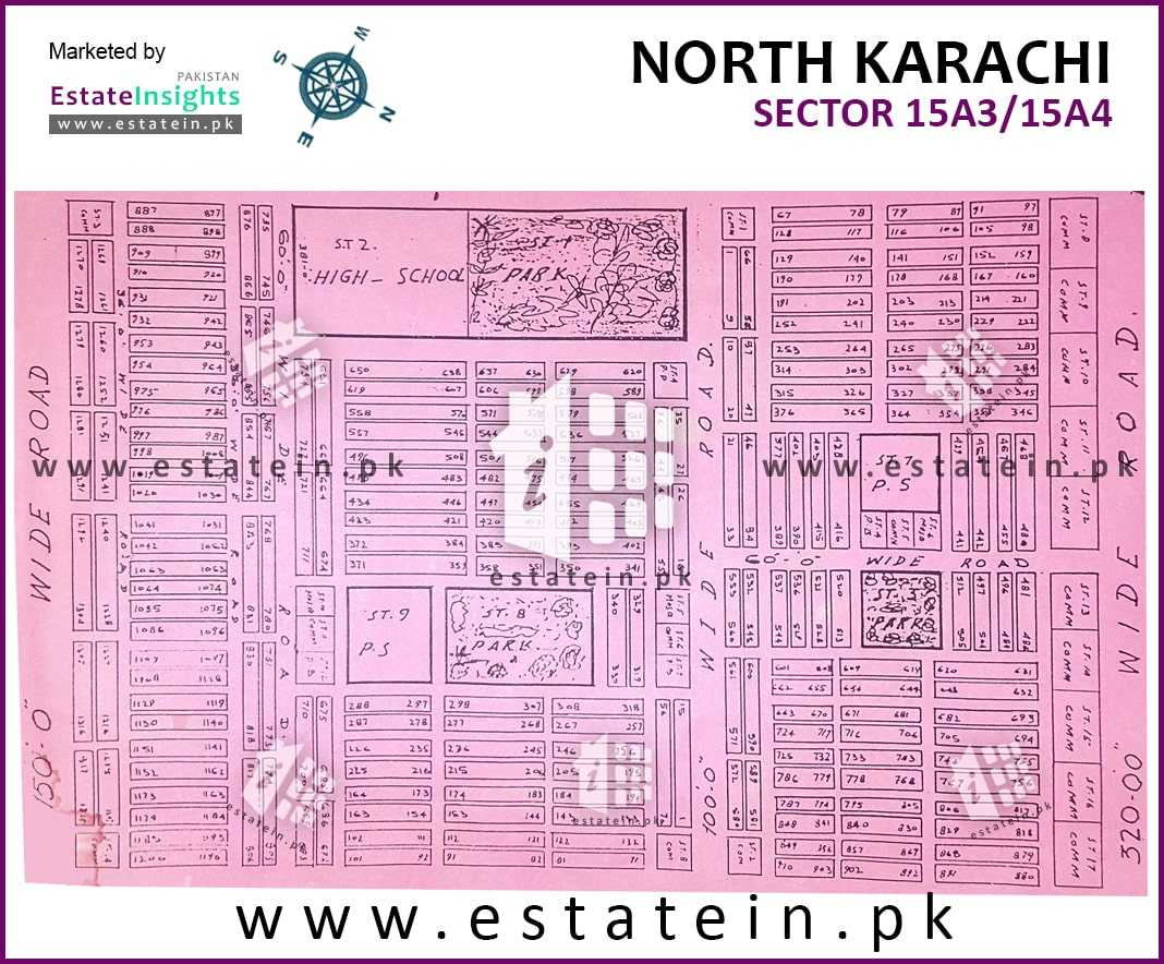 Site Plan of Sector 15-A/3 of Buffer Zone