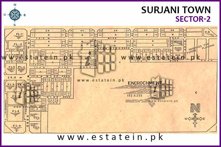 Site Plan of Sector-2 of Sector-2