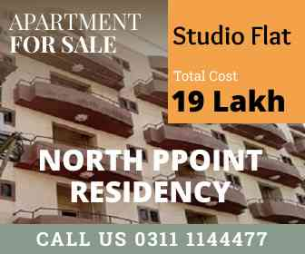 Limited Studio Flats on Investor Rates - North Point Residency