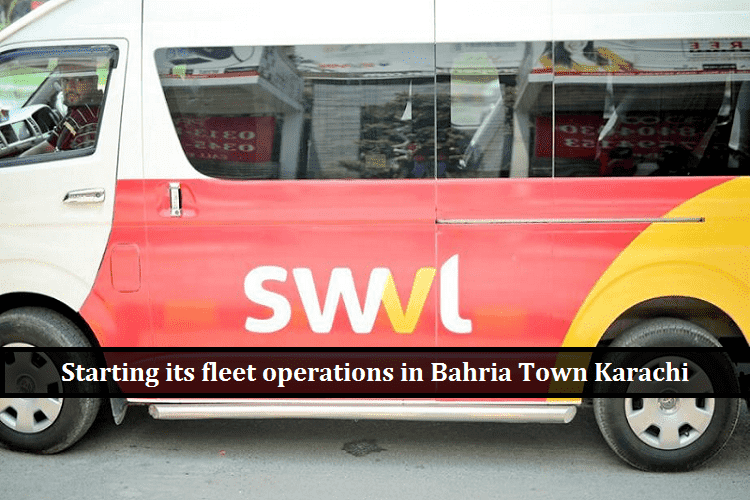 SWVL Starting its operations in Bahria Town karachi