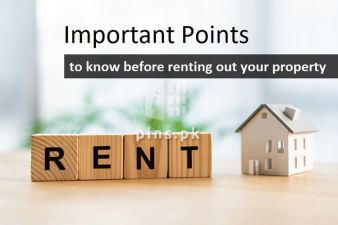 Important Points to remember before renting out a house or flat in Pakistan