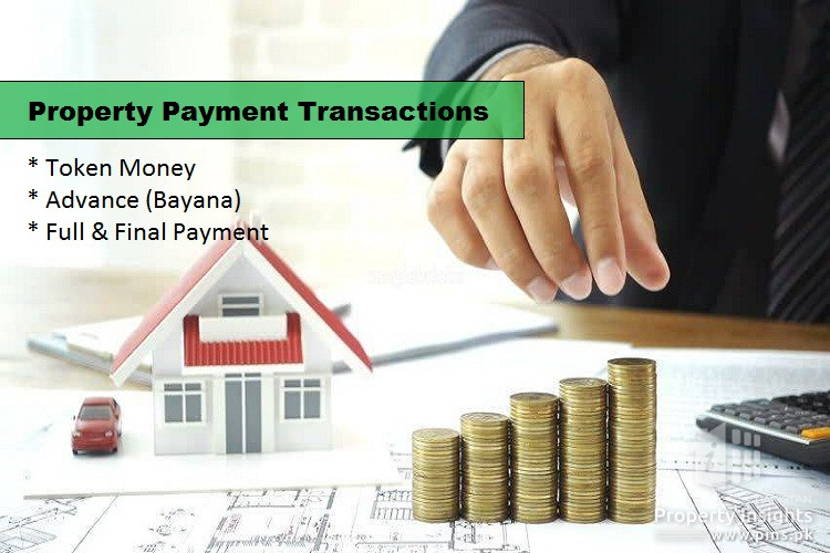 Property Transaction Payments: Conditional Token, Advance (Bayana) and Final Payment