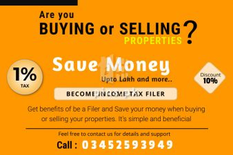 Save Money when buying or selling property in Pakistan
