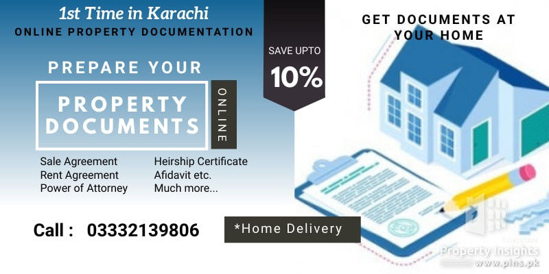 Online Property Documentation Service in Karachi - Get Documents at your Home