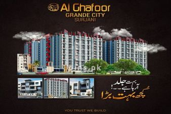 Al Ghafoor Group introduces Al Ghafoor Grande City in Sector 12, Surjani Town, Karachi.