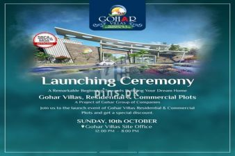 Gohar Villas - Grand Launching Ceremony of Residential and Commercial Plots