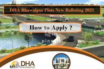 DHA Bhawalpur New Balloting 2021 - How to Apply?