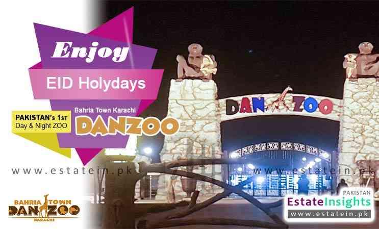 Enjoy EID Holidays at Bahria Town Karachi DANZOO Day & Night Zoo