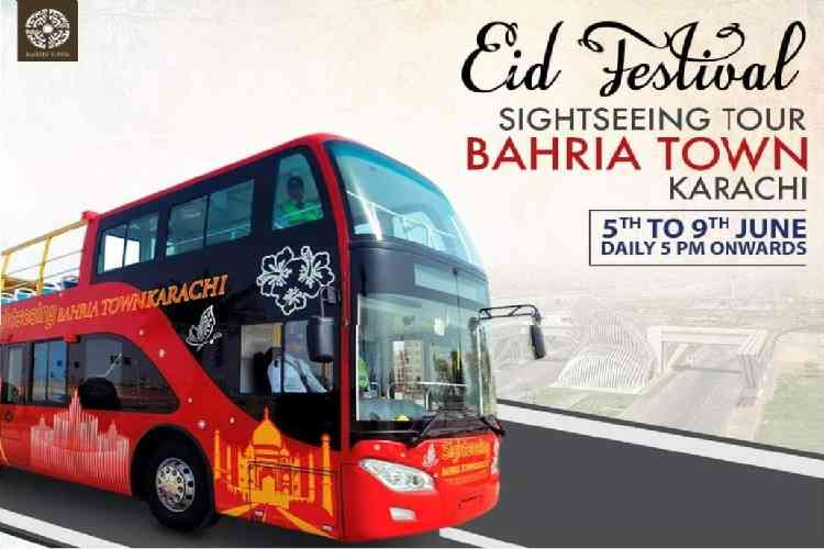 Sight Seeing Bahria Town Karachi EID Festival 2019