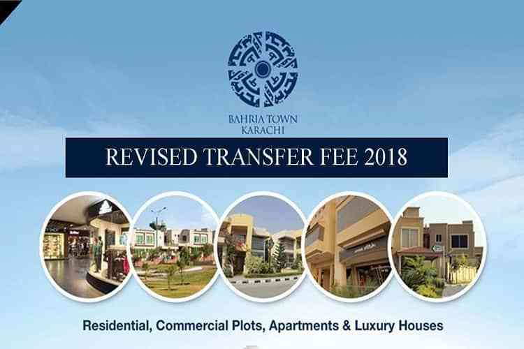 Bahria Town Karachi Revised Transfer Fee 2018