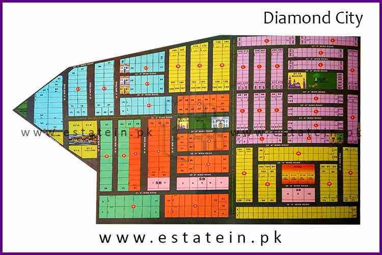 Transfer Fee of Diamond City Karachi