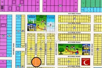 120 Sq Yards Plot for sale in Alnoor Society Scheme 33