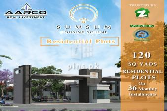 120 yards plot for sale in SumSum Housing Scheme