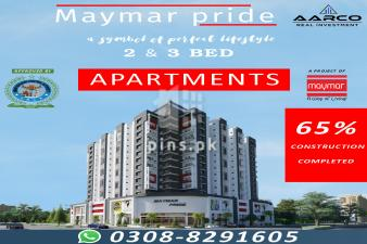 MAYMAR PRIDE APARTMENT ON EASY INSTALLMENT