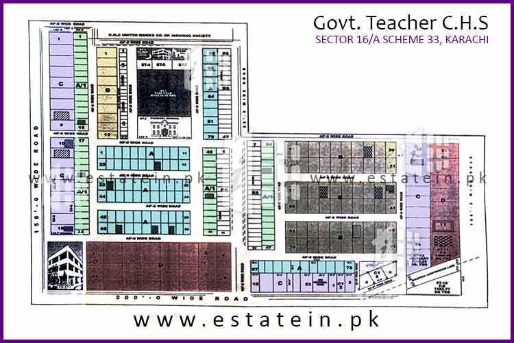 200 Sqy Plot for Sale in Govt Teacher CHS Sector 16/A