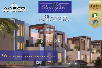 OASIS PARK RESIDENCIA VILLAS ON EASY INSTALLMENT