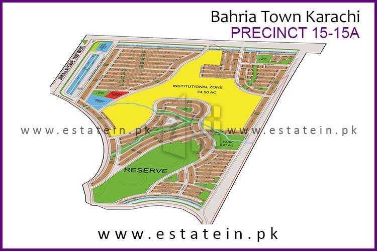 Precinct -15 125 Sqy Plot for Sale in Bahria Town Karachi