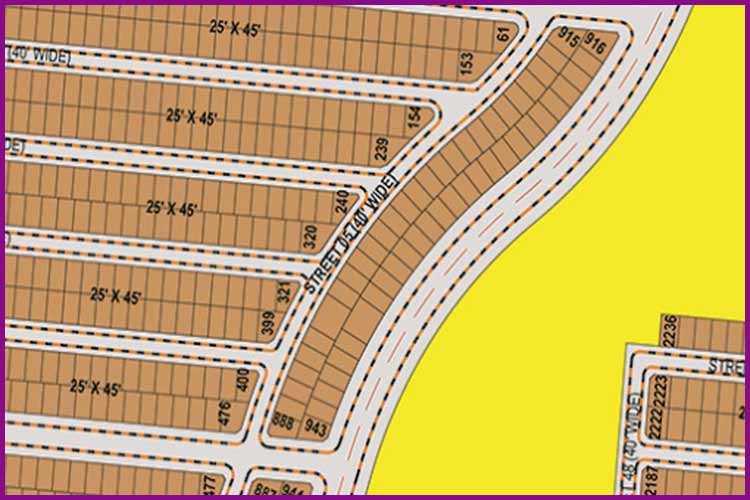 125 Sq. Yards Corner Plot for Sale in Precinct 15
