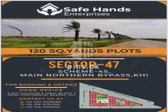 120 Yard Plot for Sale in Taiser Town Sector 47