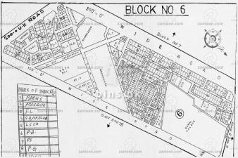 400yrds plot for sale Block 6 Gulistan-e-Johar