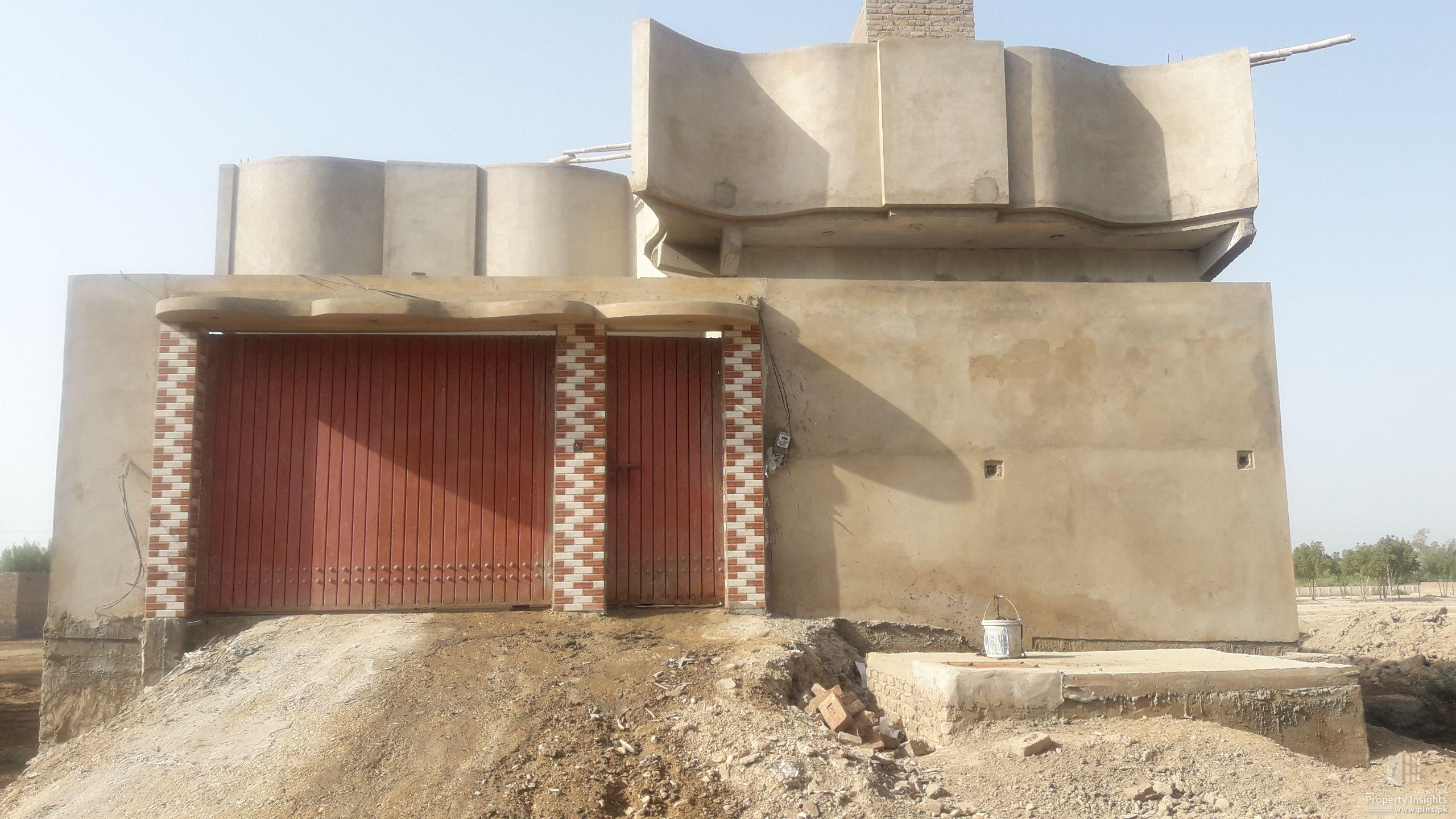 2520 feet bunglow for sale A-one Model City Nawabshah