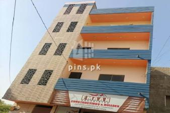 2Bed DD Apartment for Rent in Diamond City opp Sector W Gulistan-e-Maymar
