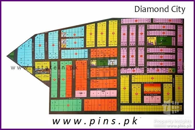 Diamond city 80 sq yards west open leased plot for sale