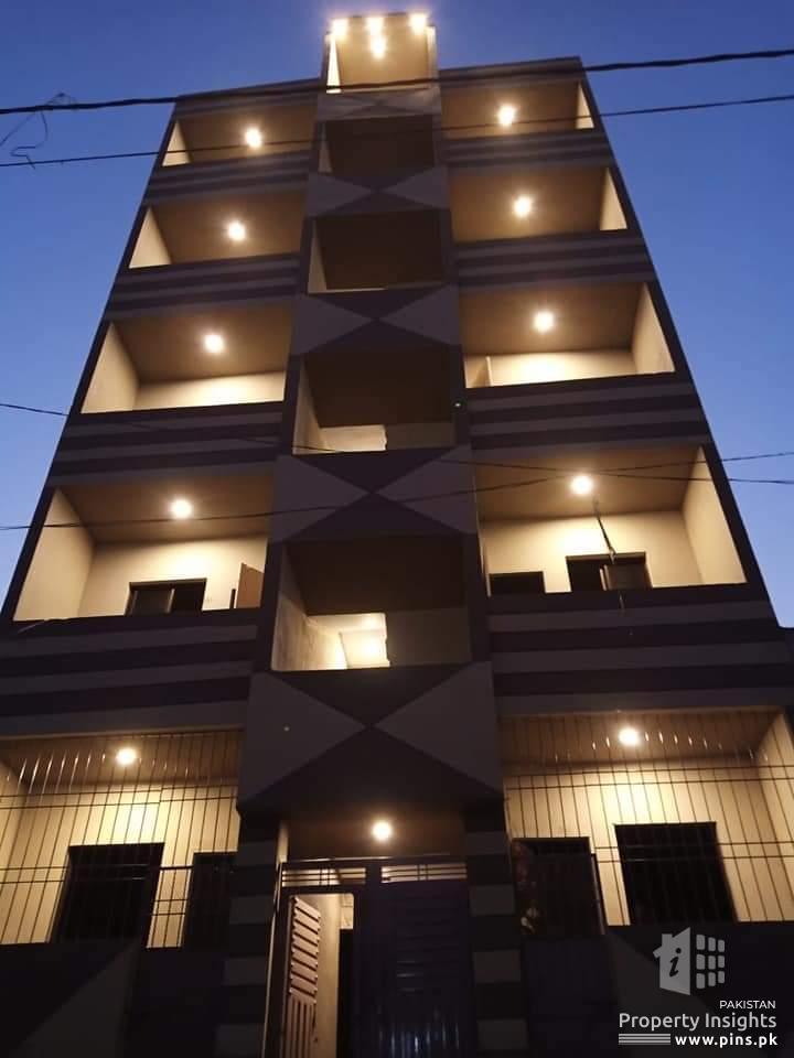 50 sq yards flat for sale in Korangi Crossing 31B
