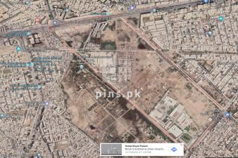 240 sq yard  plot for sale in Gulistan.e.jauhar Block 6