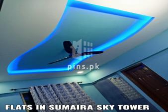 1650 sq. Ft Apartment for Rent in Sumaira Sky Tower Scheme 33