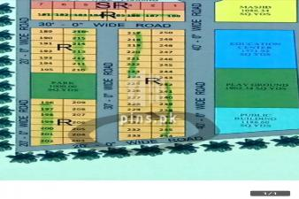 125 sq-yard commercial and residential plot for sale Shangrila City