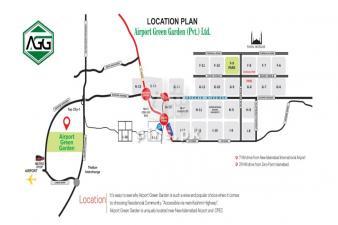 1 kanal plot for sale in Airport Green Garden Islamabad