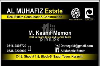120 sq.y west open best location for sale in Saadi Garden