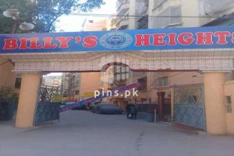 Billy Height's Flat For Sale in Gulistan e Johar, Block-18