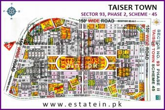 Sector 93 Taiser Town Phase 2 80 yards plot for sale