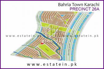 125 yards Precinct 26A Safe Plot for Sale in Bahria Town Karachi