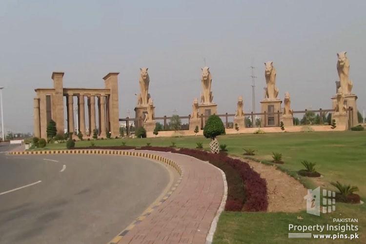 5 Marla Plot for Sale in Block B Citi Housing Faisalabad Phase 1