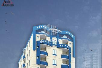 700 sq ft flat for sale in Al Ghafoor Livena Nazimabad