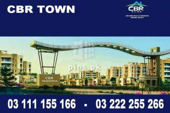 CBR TOWN , CBR Residencia Islamabad 5 Marla plot for sale on installments