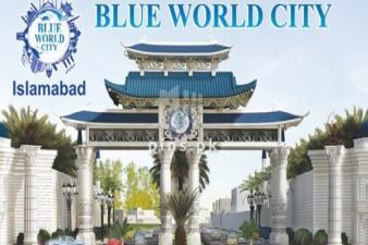 Plot for Sale Blue world city NOC
