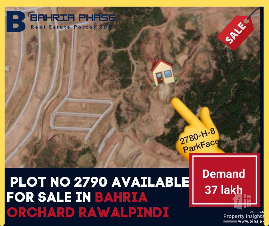 5 Marla Plots for Sale in Bahria orchard Rawalpindi