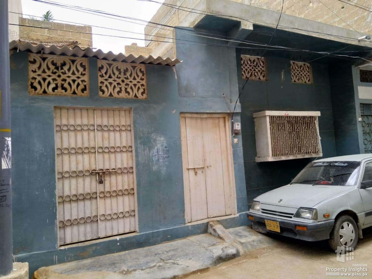 133 SQ YARDS SINGLE STORY HOUSE FOR SALE IN BLOCK 3D NAZIMABAD