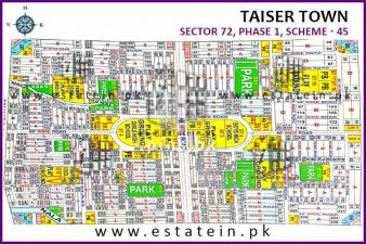 80 sq yards plot for sale in Sector 72-4 Taiser Town Phase 1