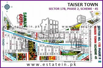 120 yards Plot for Sale in Sector 17B Taiser Town Phase 2