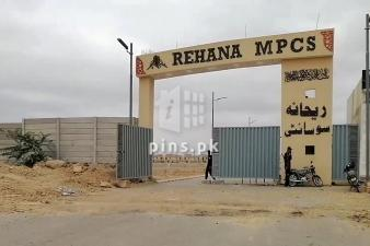 120 Square Yards Plot For Sale in Rehana MPCS Scheme 45