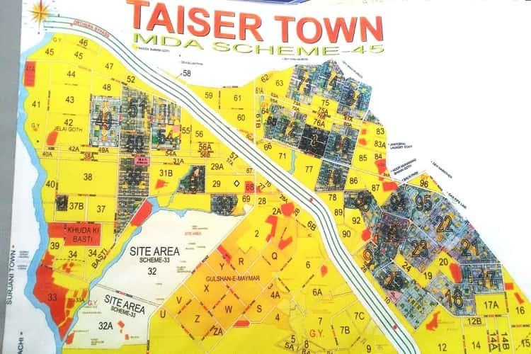 120 Sqy Plot for Sale in Taiser Town Sector 65/2