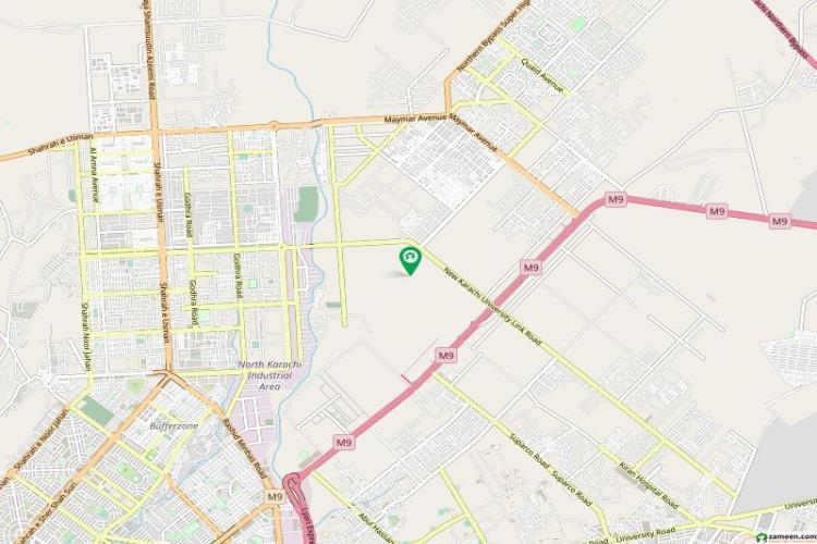 Residential Plot For Sale Karachi University Housing Society.