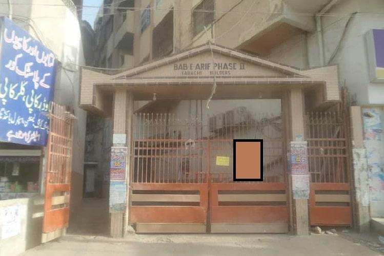 5 Rooms Luxury Big Flat for Sale in Bab e Arif Nagan Chowrangi
