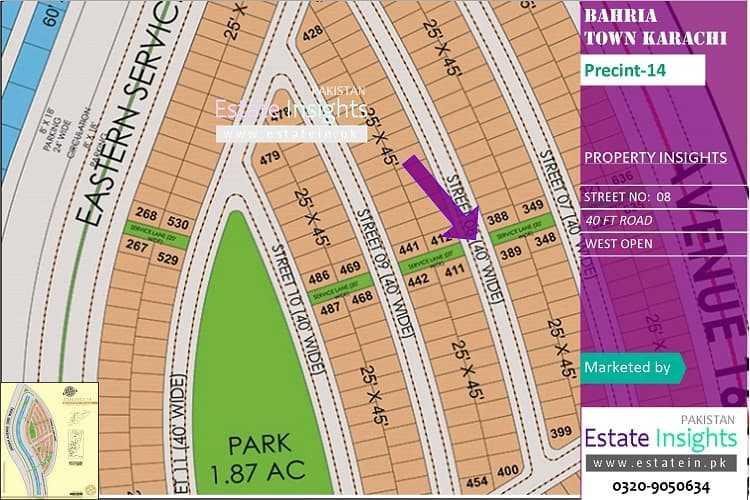 Ideal Plot in Precinct-14 Corner West Open